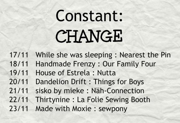 constant change map